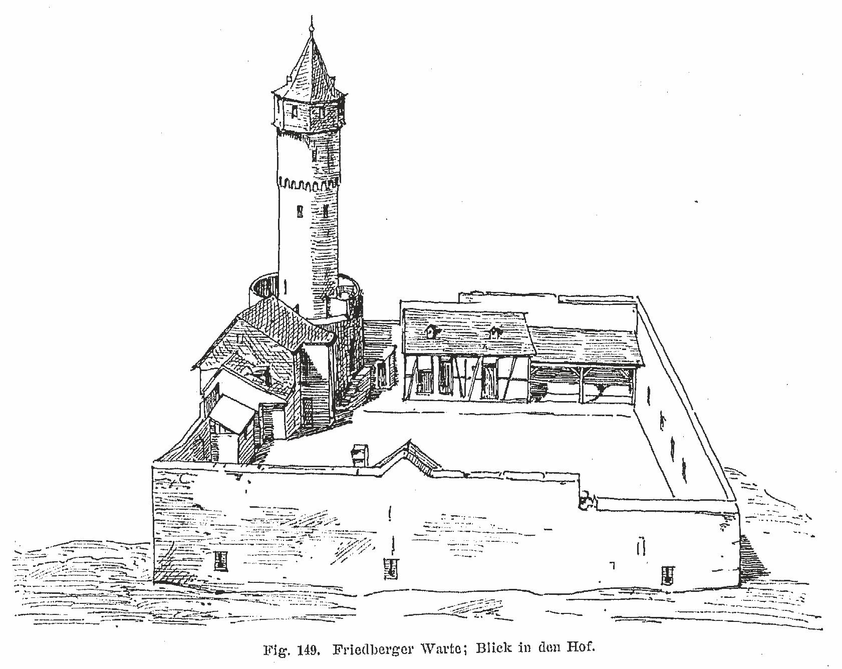 Friedberger Warte - Zeichnung1