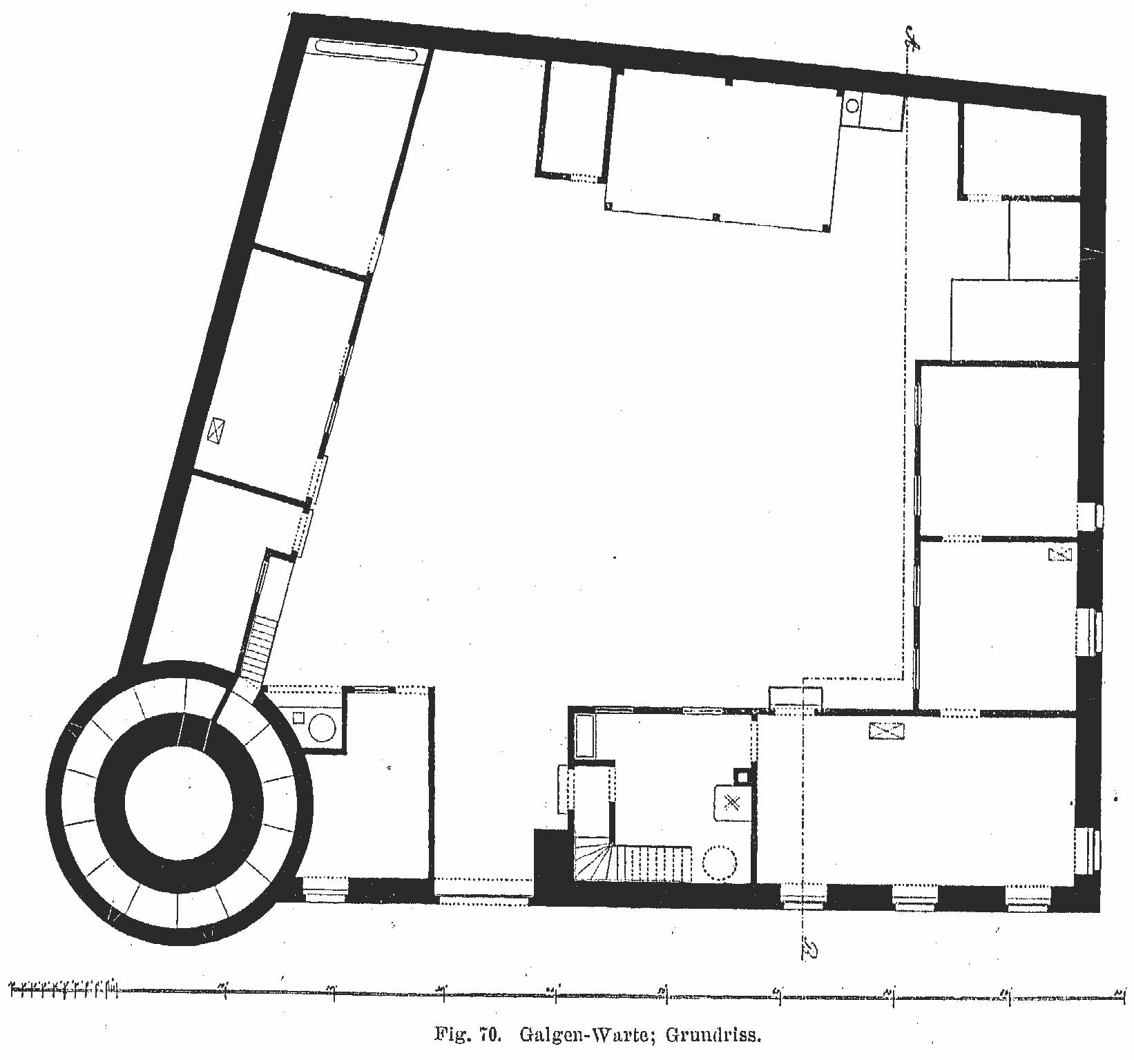 Galluswarte – Grundriss