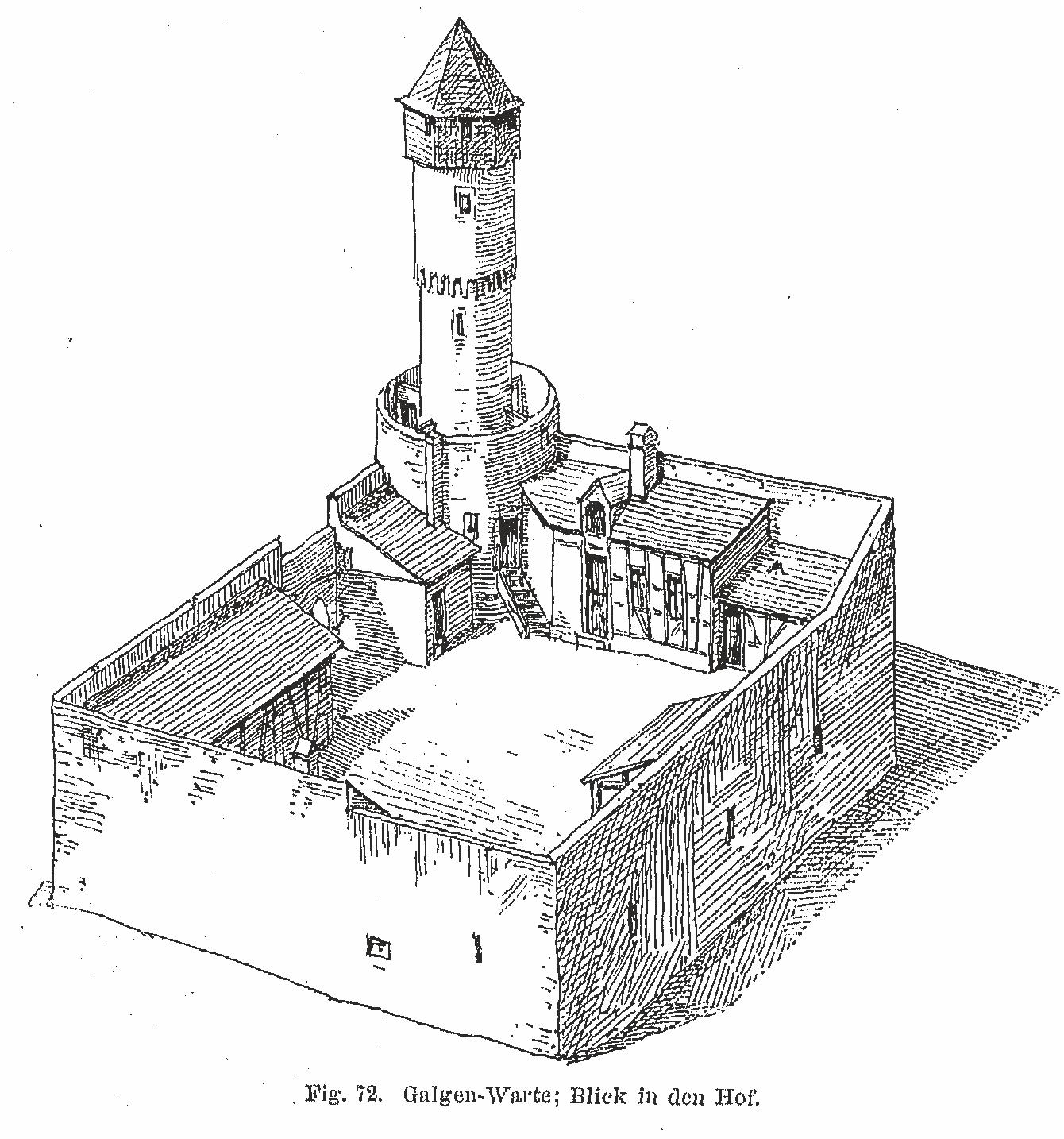 Galluswarte – Zeichnung1