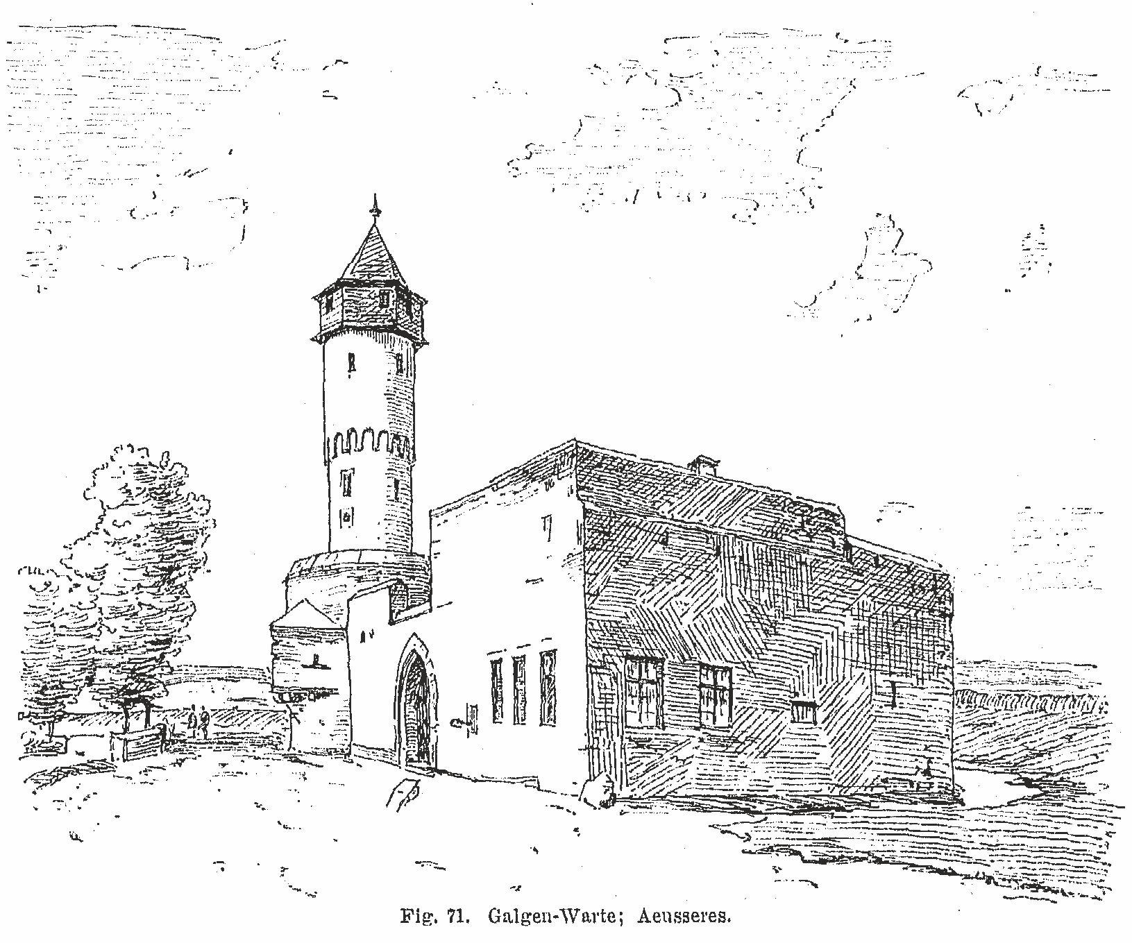 Galluswarte – Zeichnung2